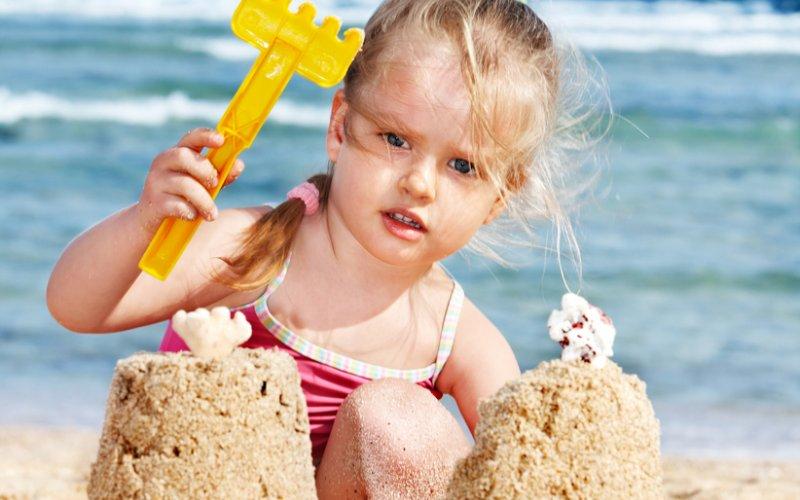 igre na plaži za djecu