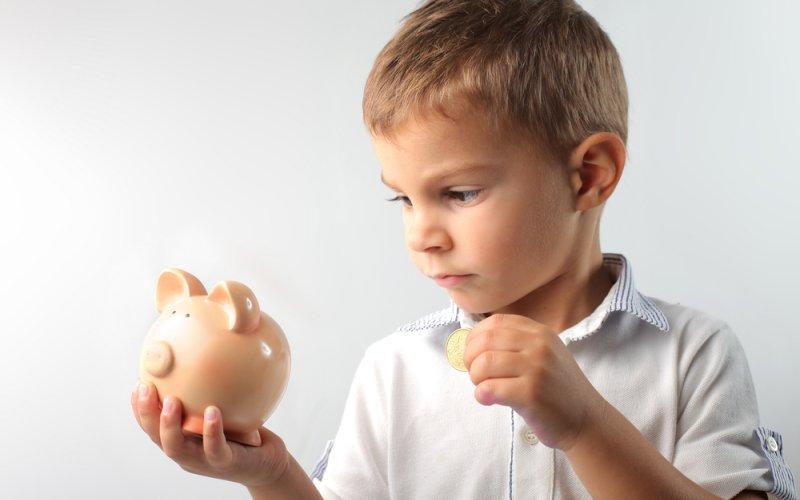 dijete i novac