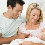 mama i tata s bebom