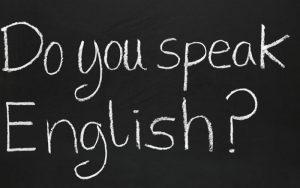 natpis za engleski jezik