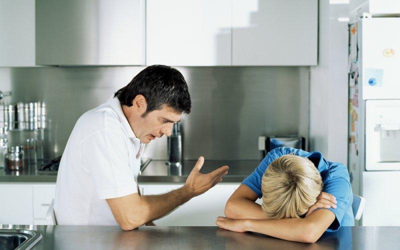 svađa s djetetom