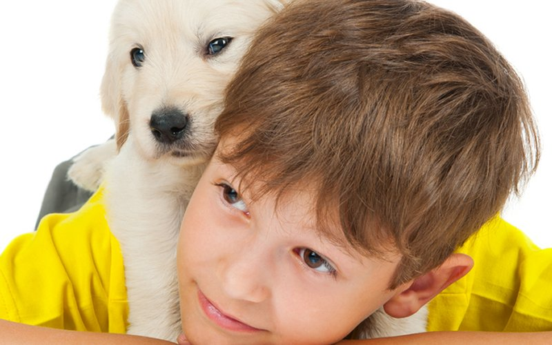 dijete sa psom