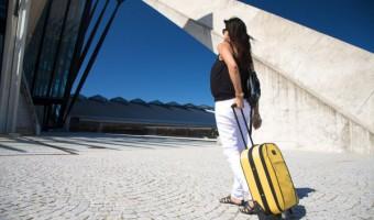 trudnica na putovanju